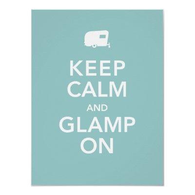 Glamping Baby, glamping!