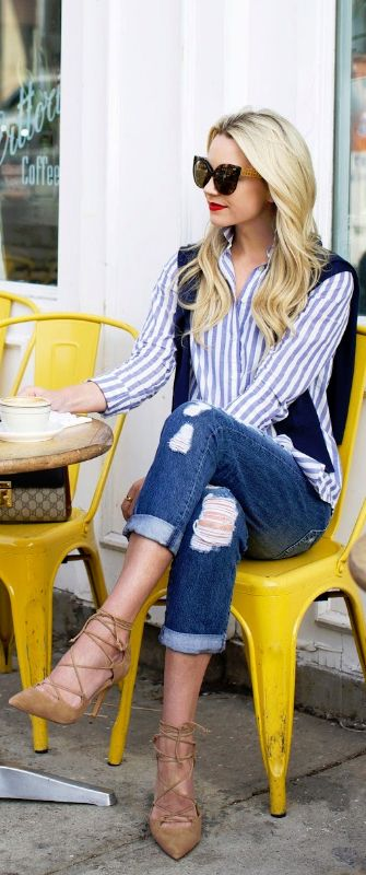 Casual Coffee / Fashion Look by Atlantic-Pacific