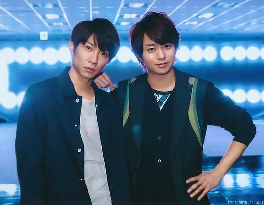 Masaki Aiba and Sho Sakurai from eyes-with-delight.tumblr.com