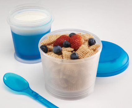 Amazon.com: On-the-go Cereal Cup: Kitchen & Dining
