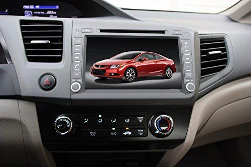 car gps navigation system for 2012 honda civic 2012. Black Bedroom Furniture Sets. Home Design Ideas