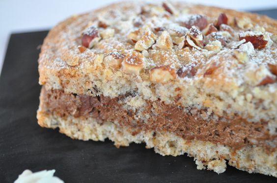Biscuit façon succès à la mousse au chocolat