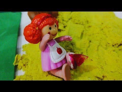 حلقة زجاجة دخلت في رجل لولو قصص اطفال عائلة عمر Youtube Playset Dolls Play
