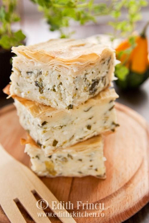 "Moldovan recipe for ""placinta cu brinza si ceapa""-cheese and onion pie"