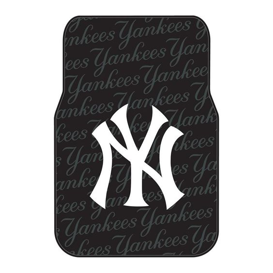 "New York Yankees MLB Car Front Floor Mats (2 Front) (17x25"")"