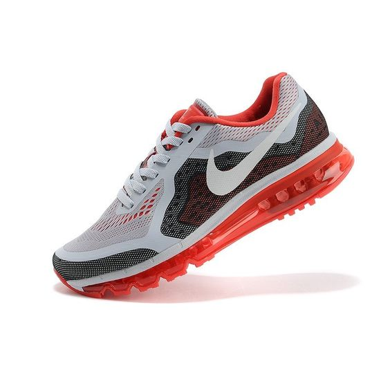 Demping Hardloopschoenen Nike Air Max 2014 Heren Wit Zwart Violet,Fashionable and quality sports shoes here just for you.