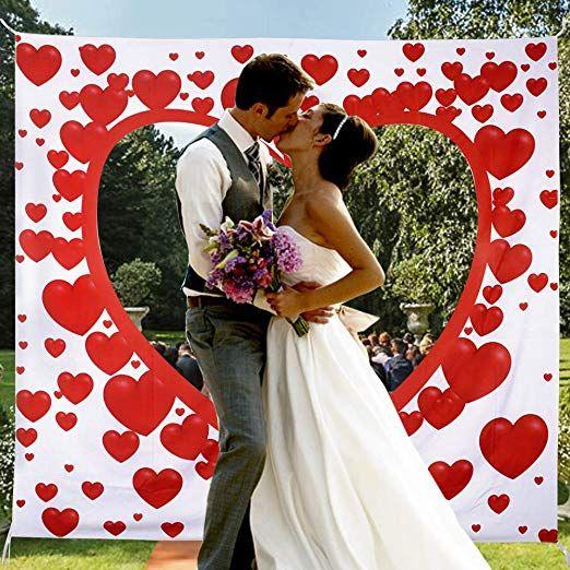 Hochzeitsherz Zum Ausschneiden Fur Das Brautpaar Hochzeitsherz