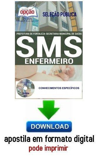 Apostila Enfermeiro Prefeitura De Fortaleza Ce Com Imagens
