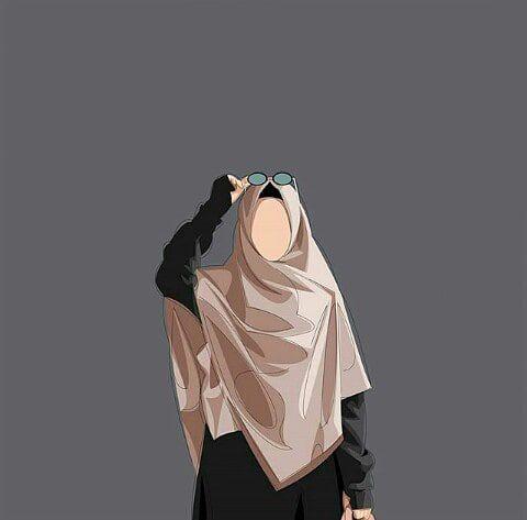 15 Trend Terbaru Gambar Kartun Hijab Muslimah Mopppy
