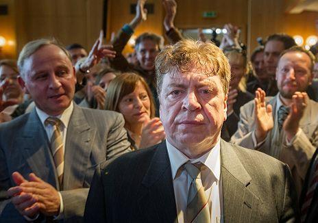 """Armin Rohde und Alexander Held in """"Unverschämtes Glück"""""""