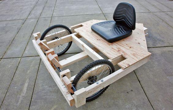How to Build a Cheap(ish) Drill-Powered Go-Kart | Lifehacker UK