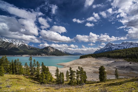 Abraham Lake by Catalin Mitrache on 500px