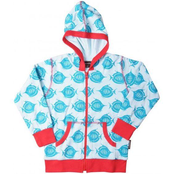 Summer Fish Hooded Sweatshirt