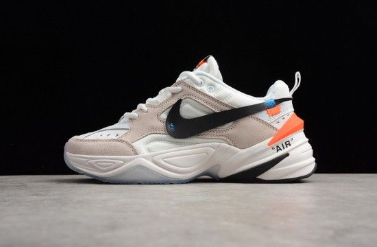 Off-White x Nike M2K Tekno Beige White