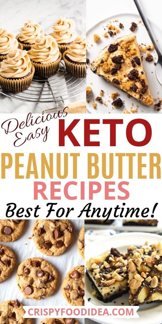 Keto Peanut butter Recipes Pinterest