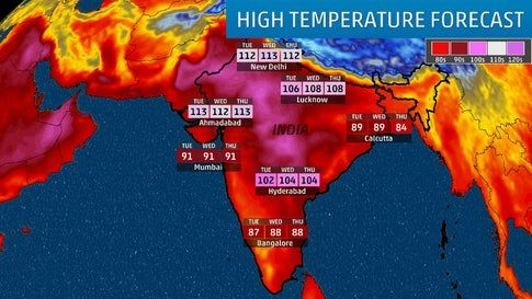 Deadly India Heat Wave Temperature Reaches 123 Degrees In Second Driest Pre Monsoon Spell In 65 Years The Weather Channel The Weather Channel Heatwave Extreme Weather