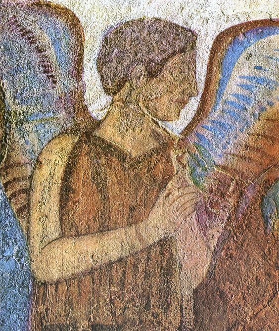 The goddess rome and fresco on pinterest for Clarks mural fresco boots