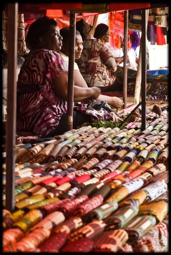 Manzini Market, textil