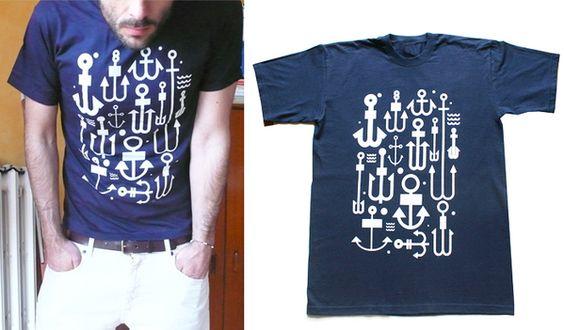 Shirt.:  Tee Shirt,  T-Shirt, Anchor Bo, Gift Ideas, Bo Steele, Family Tees