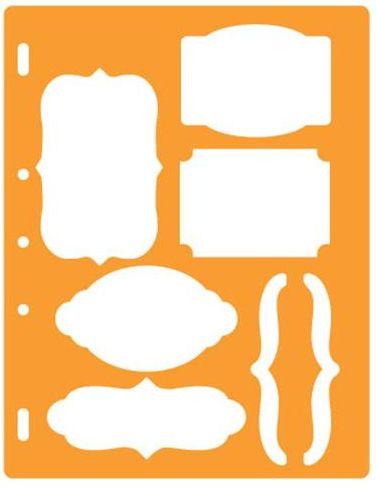 Fiskars - Shape Template - Bracket and Journal at Scrapbook.com $4.99