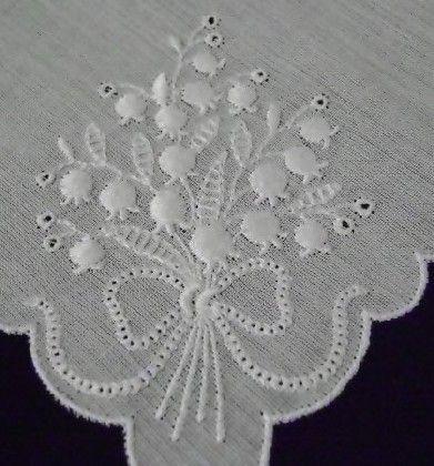 lovely handkerchief from nana lulu's linens