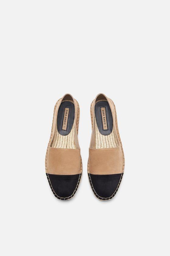 esparto espadrilles shoes woman shoes\u0026bags zara united chanel espadrilles 2019 sneakers hamptons pastel rose – maneb�