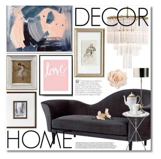 love by miee0105 on Polyvore featuring polyvore, interior, interiors, interior design, thuis, home decor, interior decorating, Gubi, Arteriors, Wedgwood, Versace, Frontgate and John-Richard