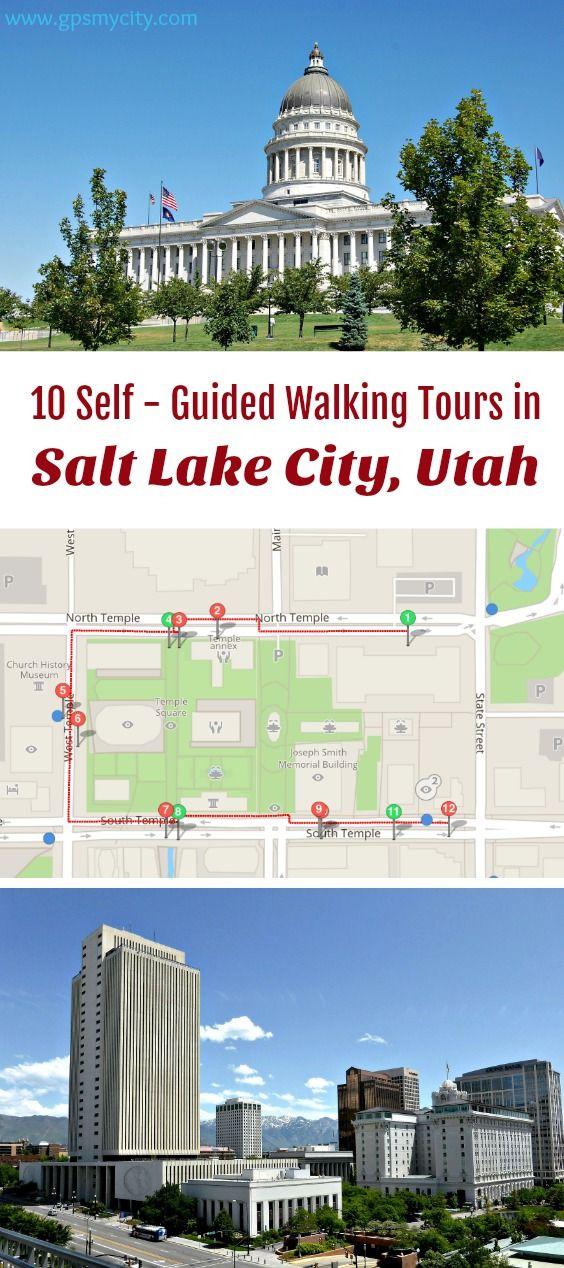 Walking Tours In Salt Lake City Utah Salt Lake City Hikes Salt Lake City Utah Salt Lake City