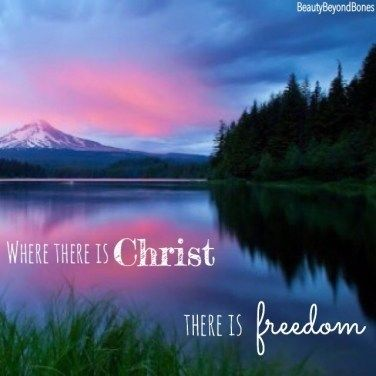 Where there is Christ, there is freedom. – BeautyBeyondBones - Changing the Beauty Game #quotes #inspirationalquotes #inspiration #edrecovery #recovery #howtorecover #addiction #eatingdisorder #eatingdisorderrecovery #anorexiarecovery #faith #healing #motivation #inspire #mentalhealth #bodypositivity #bopo #selflove #selfcare #bodyimage #grace #catholic #christianity #god #Jesus #prayer #bible #teens #family #hope #wallpaper #blogger #biblequotes #friendshipquotes