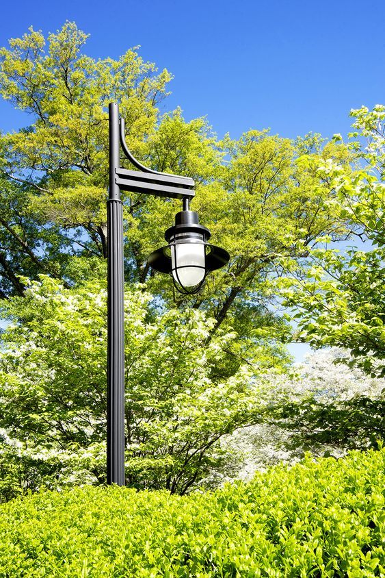 Exterior Led Area Light Fixture Embodies Classic Design To Match Building And Landsc Landscape Lighting Design Commercial Outdoor Lighting Led Outdoor Lighting