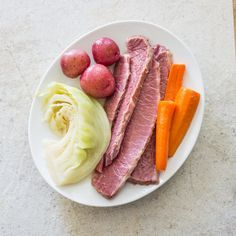 Home-Corned Beef and Vegetables