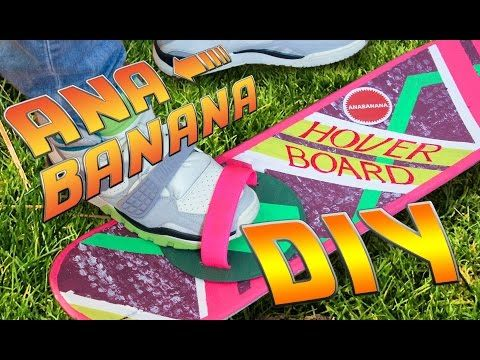 Halloween Last Minute DIY Costume | Hoverboard Tutorial | Back to the Future - YouTube