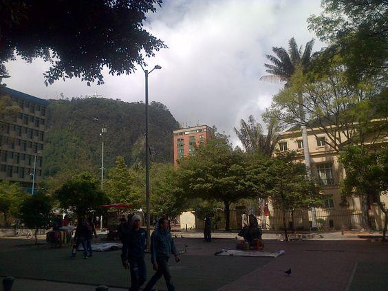 Centro histórico, Bogotá-Colombia.