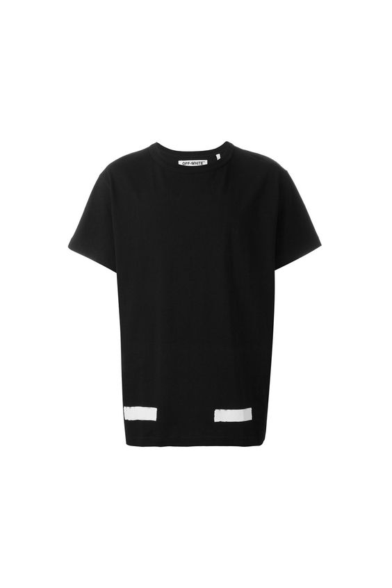 {Off-White / 01 clothing / 04 knitwear / 01 t-shirt} Brushed Diagonals T-Shirt