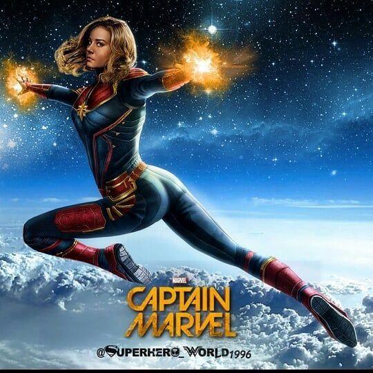 Is This Official Or Fan Art Marvel Capitana Marvel Magníficos