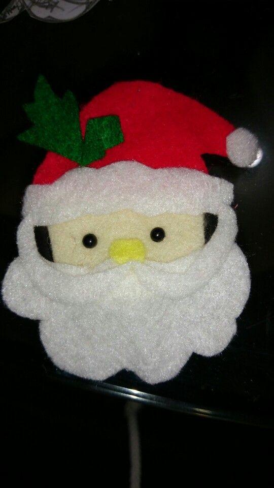 My santa felt