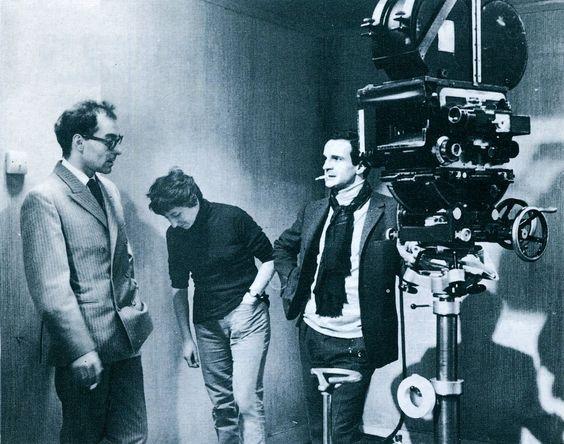 "Eva Arriaga Durán on Twitter: ""Jean-Luc Godard visitando a François Truffaut en el set de ""Fahrenheit 451"" (1966). https://t.co/9kBJ4FlBnH"""