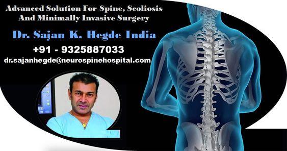 Best scoliosis spine surgeon in India