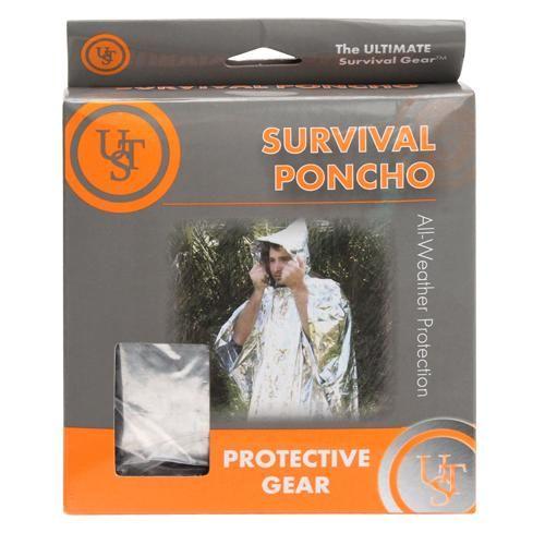 Survival Reflect Poncho, Silver