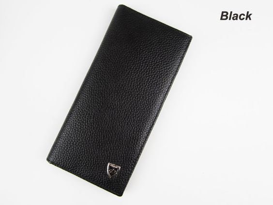 Brand Logo ! 2016 Hot Men Wallet Genuine Leather Long clutch wallets for men Cowhide Bifold Coin Purse Slim Fashion Male Wallets
