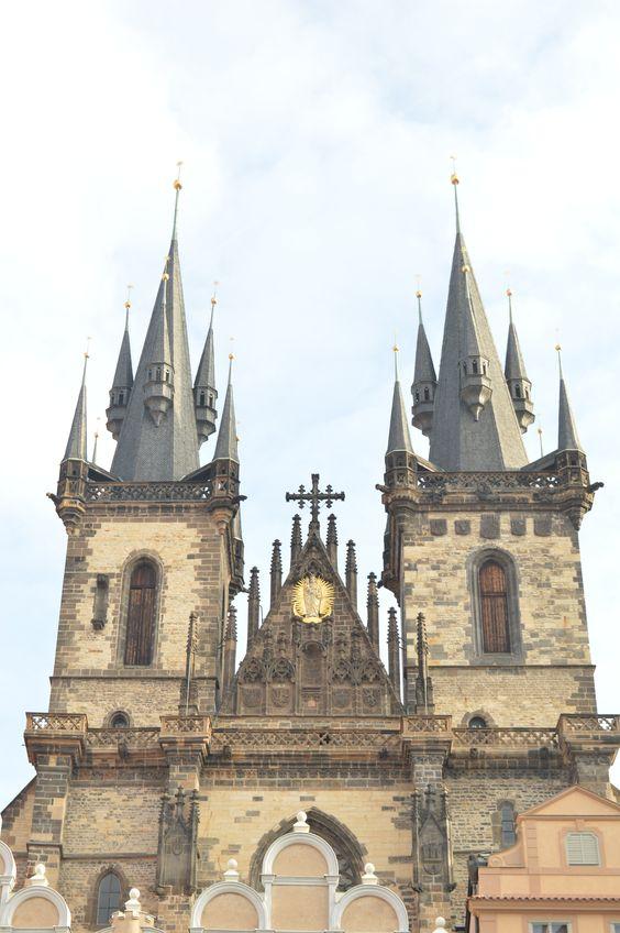Church of Our Lady before Tyn, Prague.