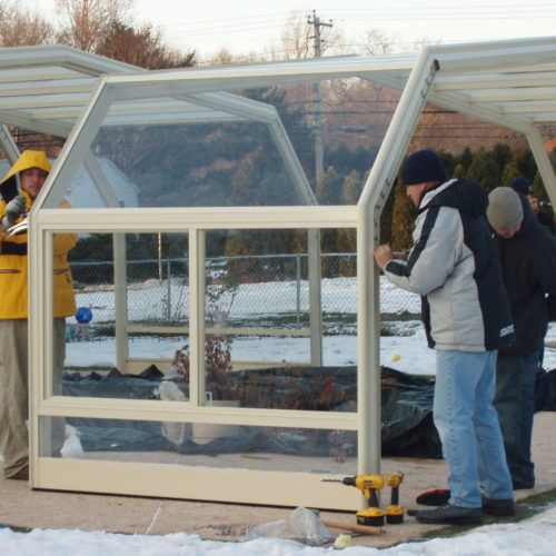 Connecticut Glass Pool Enclosure Manufactured By Roll A Cover In 2020 Pool Enclosures Residential Pool Glass Pool