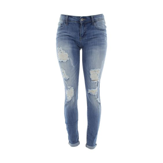 Light blue skinny jeans for women – Global fashion jeans collection