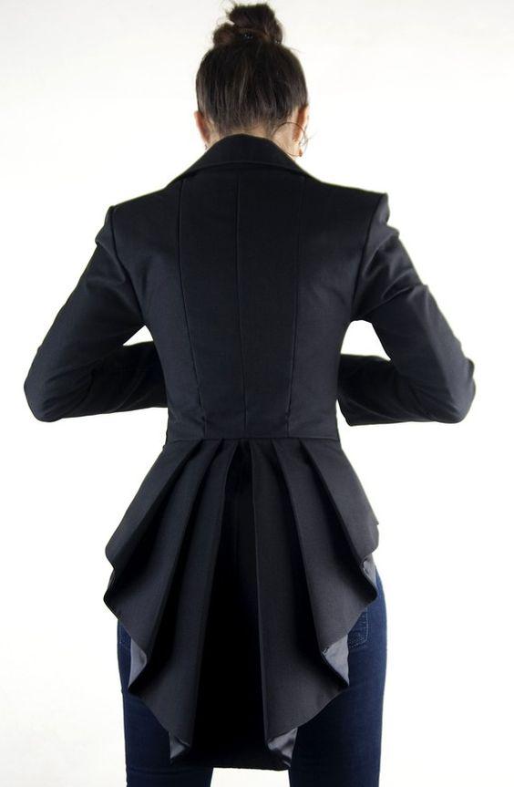 Mina-Jacke von LauraGalic auf Etsy