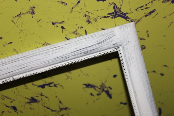 8x10 White frame by SeizeYourMoment on Etsy, $16.00