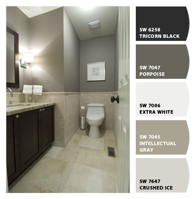 Exterior colors paint colors and tile on pinterest - Exterior paint in bathroom set ...