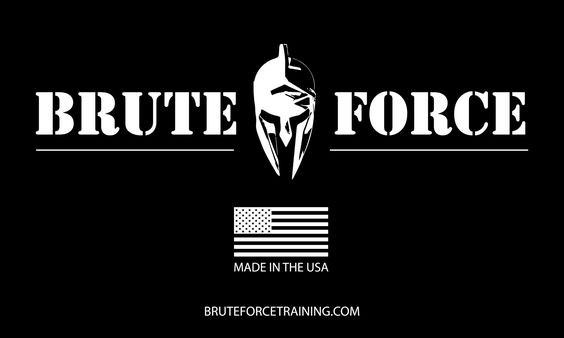 "Brute Force BASIC Gym Flag Make a simple statement in your garage, box or gym with the new Brute Force ""BASIC"" Gym Flag. 3'x5' nylon gym banners featuring 4 corner grommet configuration. Our Brute For"