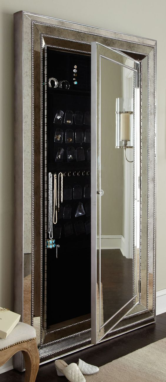 Hidden compartments floor mirrors and mirror on pinterest - Bedroom sets with hidden compartments ...