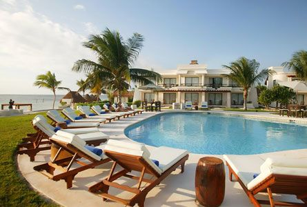 We will be spending 5 of our 10 nights here at Azul Beach Hotel - a boutique all inclusive for families complete with beach butlers and toys delivered to your room