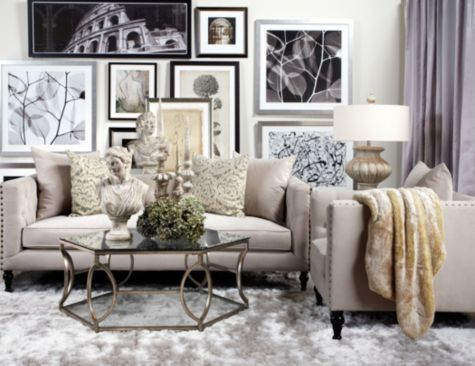 Roberto Sofa From Z Gallerie | Living Room | Pinterest | Living Rooms, Room  And Beautiful Space